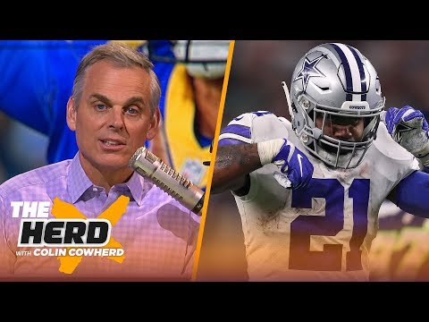 Lynn Hernandez - Cowherd's Reaction to Zeke's New Contract: This is Dak Prescott's franchise