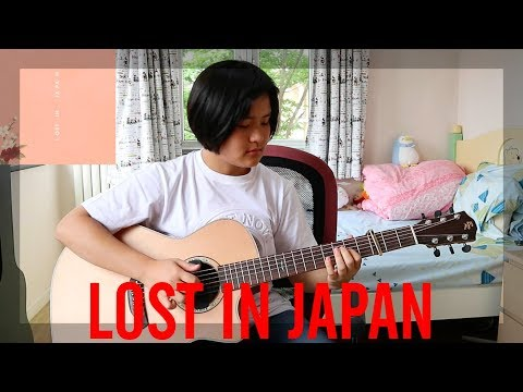 Lost In Japan - Shawn Mendes (fingerstyle Guitar Cover) (free Tabs)