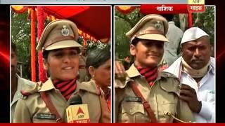 Nashik: meena tupe reaction on best cadet in police