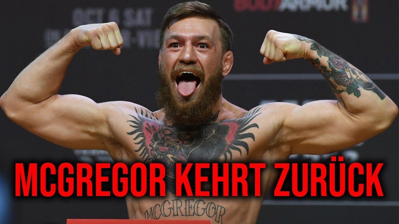 Conor Mcgregor Gibt Datum Fur Nachsten Kampf Bekannt