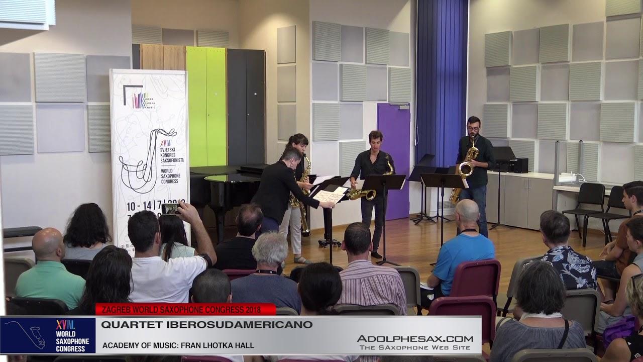 La jaula de oro by Matias Ramisch   Cuarteto Iberosudamericano   XVIII World Sax Congress 2018 #adol