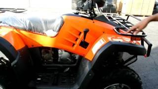 Monster 300cc ATV video