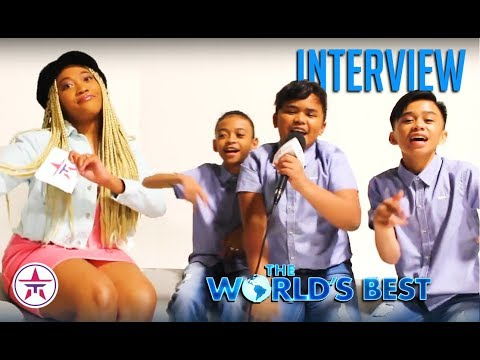 The World's Best: TNT Boys React To Ariana Grande's SURPRISE