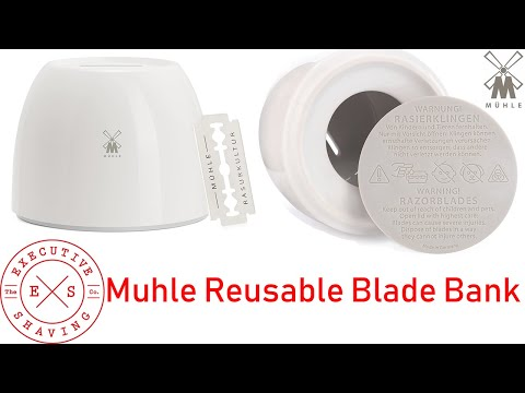 new-muhle-reusable-blade-bank-for-used-safety-razor-blades-demo