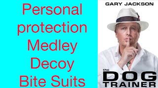 Decoy Body Bite Suit Concealed Arms Bite Training