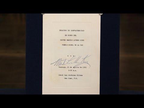1965 Dr. Martin Luther King, Jr.-signed Program | Web Appraisal | Virginia Beach