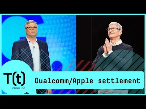 Qualcomm and Apple settle lawsuit, plus, a look at the streaming service war