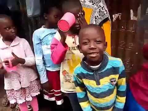 WFF GMFC Nutrition Program - Kibera Slum Kenya