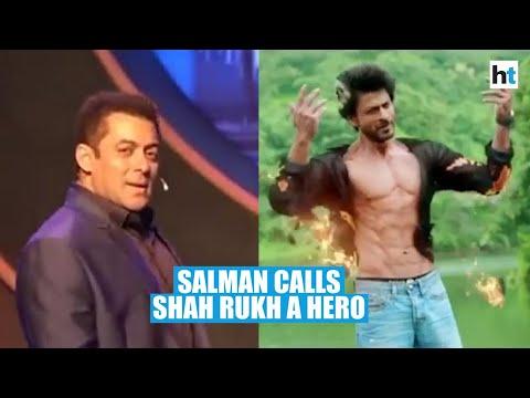 Salman Khan calls Shah Rukh Khan a 'hero' for saving woman from fire Mp3