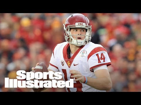 Jets Pick Sam Darnold: Breaking Down The #3 Pick, High End Throws | NFL Draft | Sports Illustrated