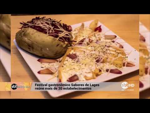 Festival gastronômico Sabores de Lages reúne mais de 30 estabelecimentos