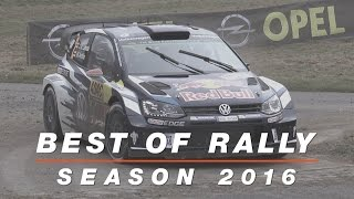 Best of Rally 2016 | Crashes, Mistakes, Maximum Attack & Onboard Action