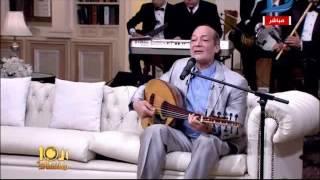 العاشرة مساء| احمد الحجار يغني