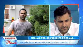 Mama si fiul se vad dupa 23 de ani... (La Maruta Editia 205)