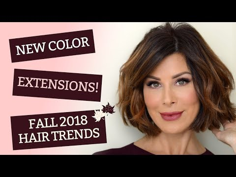 New Color, Extensions! & Fall 2018 Hair Trends | Dominique Sachse