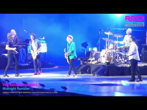 The Rolling Stones - Midnight Rambler HD En Vivo Estadio Único de La Plata 10.02.2016
