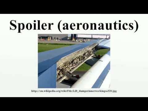 Spoiler (aeronautics)