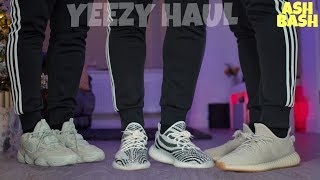 EPIC YEEZY HAUL | 3 PAIRS | 350 V2 | 500 | OH WOW | Ash Bash