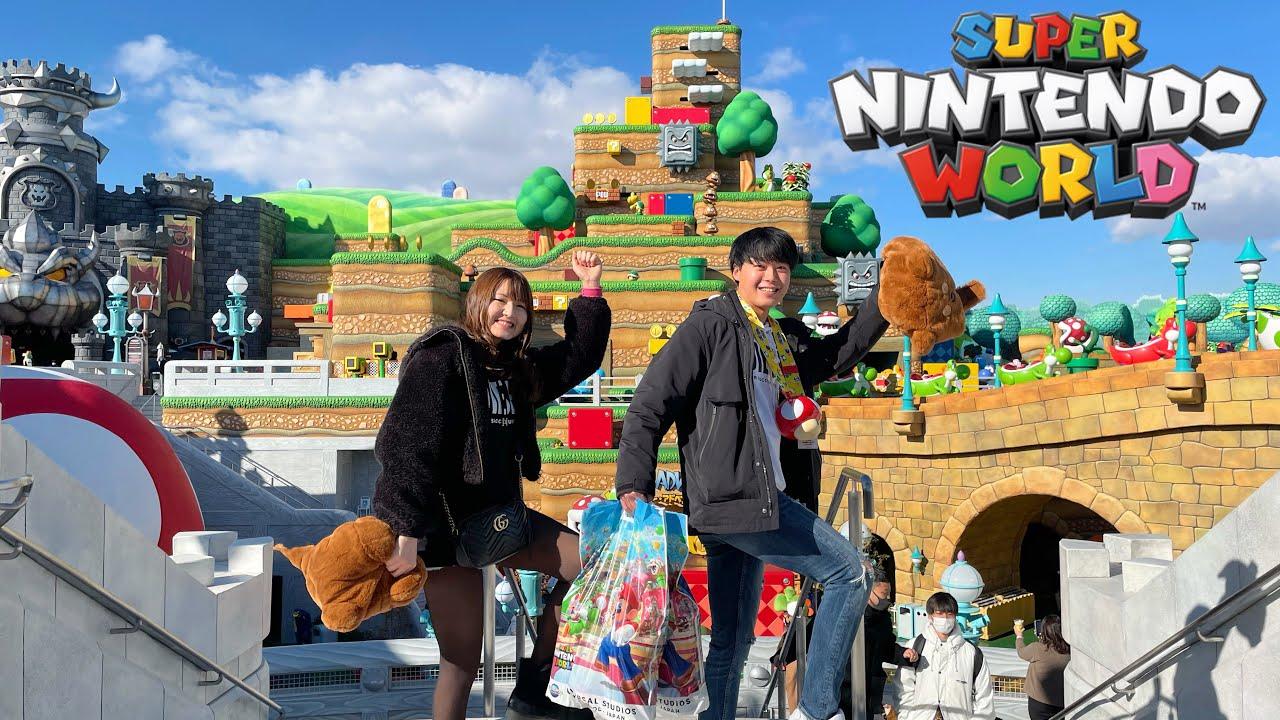 【USJ】スーパー・ニンテンドー・ワールド☆先行体験の様子  NintendoWorld