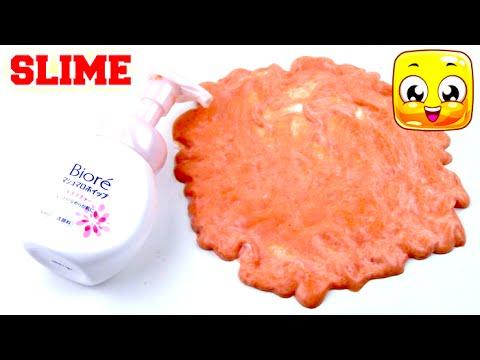 How To Make Face Wash Slime DIY Slime No Borax No Liquid ...