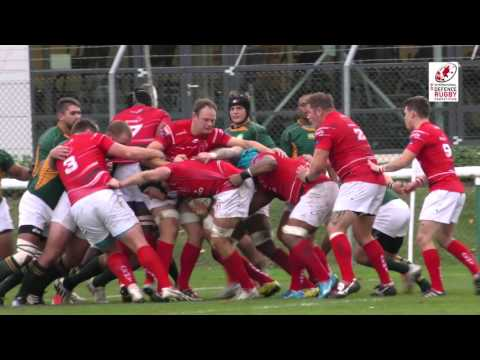 British Army vs South Africa Defence Force IDRC QF Highlights 19-10-15