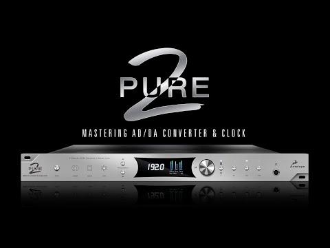 Antelope Audio Pure2 - 2 Channel AD/DA & Master Clock