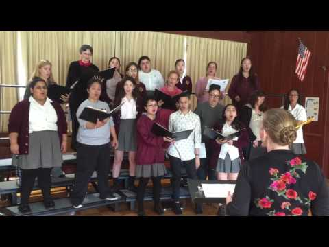 """VOX Joins Ramona Convent HS Choir In """"If YouTellTheTruth"""""""