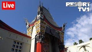 🔴Live: Disney's Hollywood Studios Shows & Rides 1080p - Walt Disney World Live Stream - 3-24-19