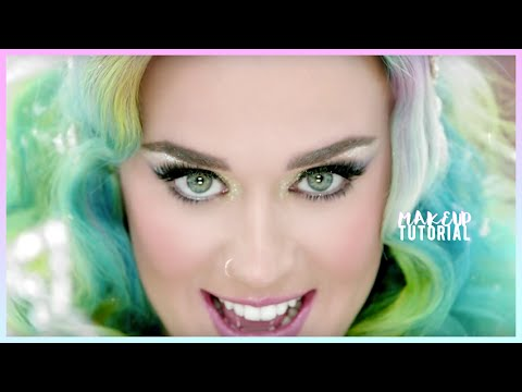 KATY PERRY Inspired H&M Commercial Makeup Tutorial