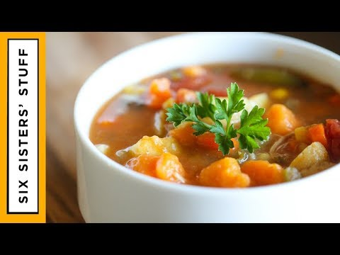 Detox Slow Cooker Loaded Vegetable Soup
