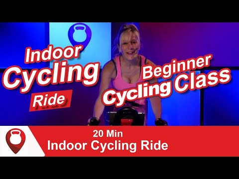Beginner Spin Class | 20 Min Indoor Cycling Ride | Fitscope Studio