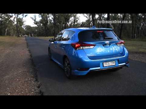 2015 Toyota Corolla ZR CVT 0 100km h engine sound