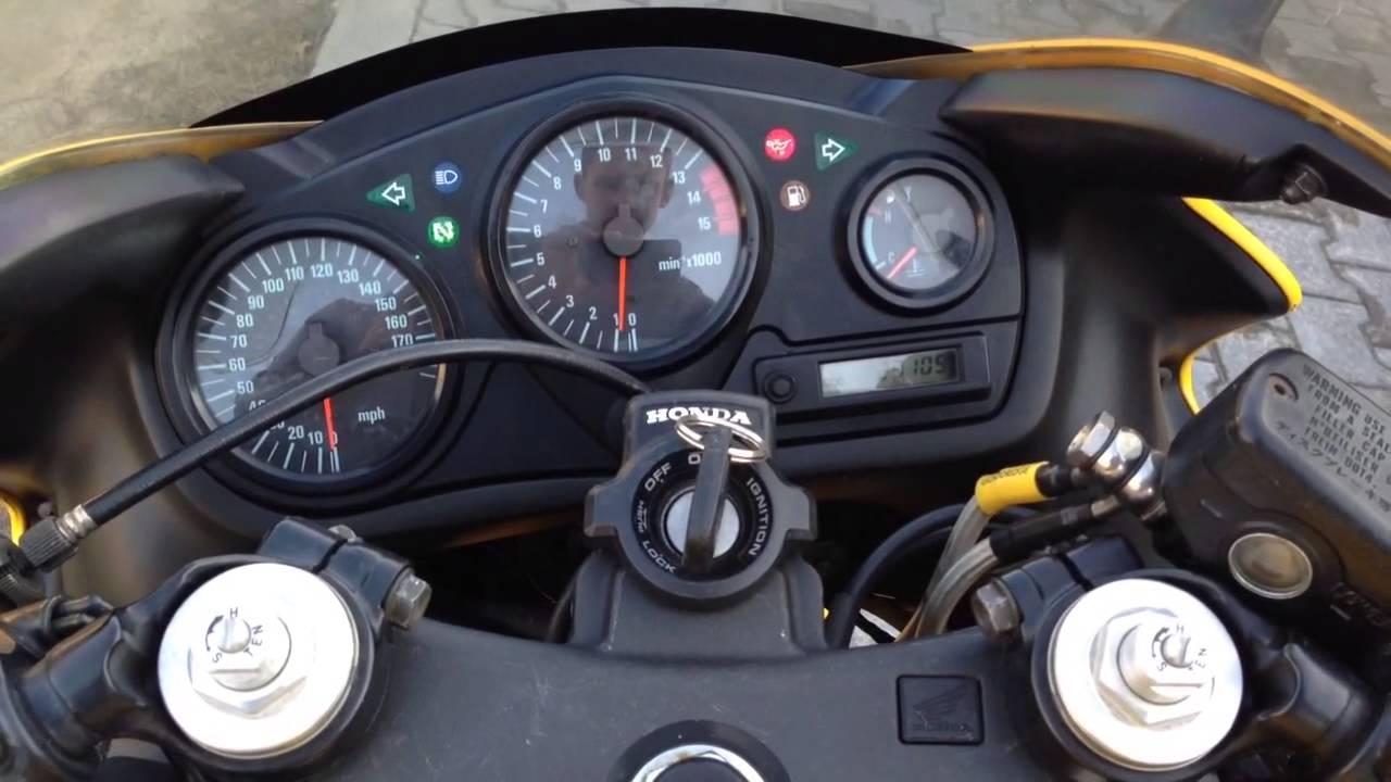 Honda CBR 600 f 1999 f4 - YouTube