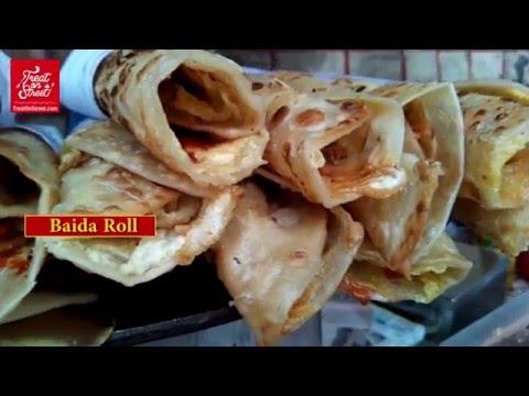 Indian Street Food | Baida Roti | Egg With Indian Roti | Mumbai Street Food | Area Sion East Mumbai