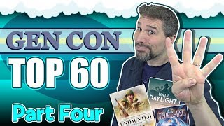 Top 60 Board Games At Gen Con 2019 | Part 4