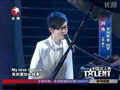 3 Người chiến thắng của Trung Quốc Got Talent cuối cùng 2010   Nghệ sĩ dương cầm không có tay
