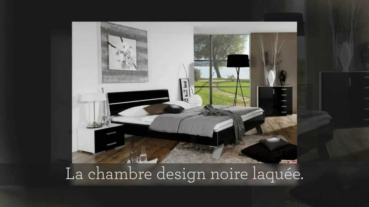 collection calina chambre moderne chambre contemporaine youtube. Black Bedroom Furniture Sets. Home Design Ideas