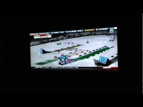 Winter X Games 2012: Snowmobile Front Flip (First Ever) by Heath Frisby