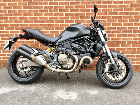 Ducati Monster 821 Dark, www.ridersmotorcycles stk# 23718