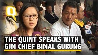 The Quint: Bimal Gurung: Have Given BJP 2019 Deadline to Form Gorkhaland
