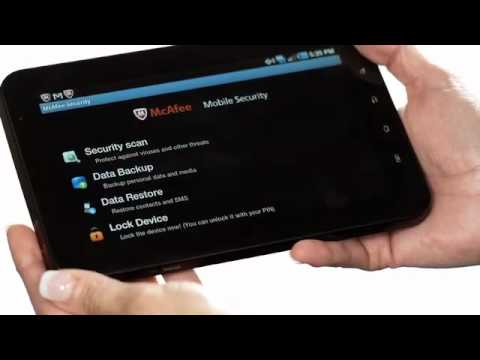 McAfee Mobile Security Anti-virus and Anti-malware Protection