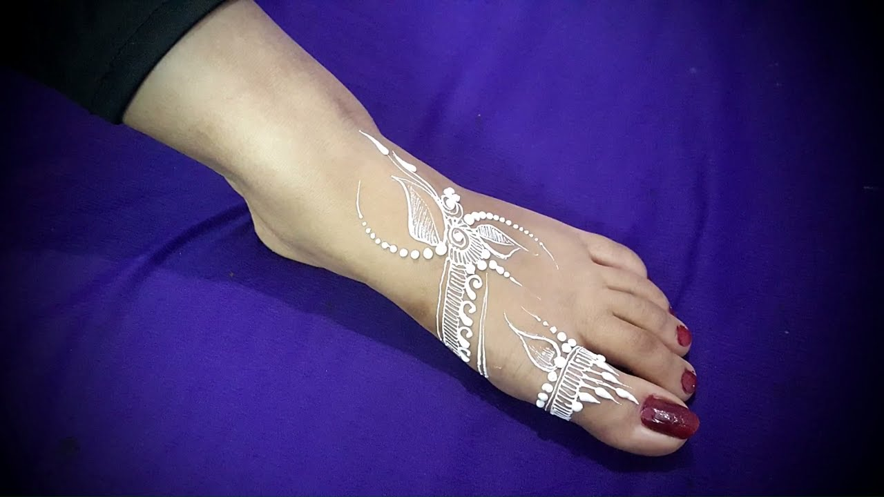 Henna Tattoo Kaufen Amazon: DIY How To Apply White Henna/ Body Paint Temporary Tattoo