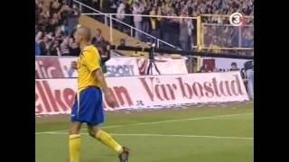 VM-KVALET 2006 - sverige - island 3-1