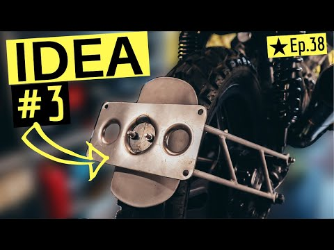 3 Ways To Fit A Licence Plate To A Motorcycle,  Ep.38