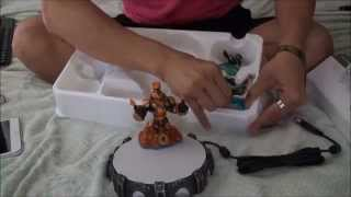 Unboxing Skylanders Swap Force Starter Pack