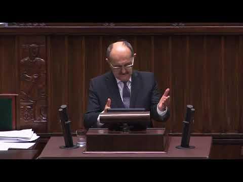 Andrzej Matusiewicz – wystąpienie z 25 stycznia 2018 r.