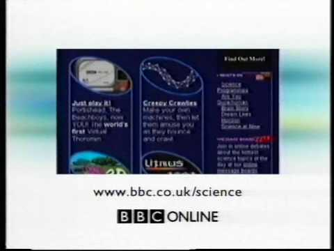 BBC Online Science Advert, circa 2000