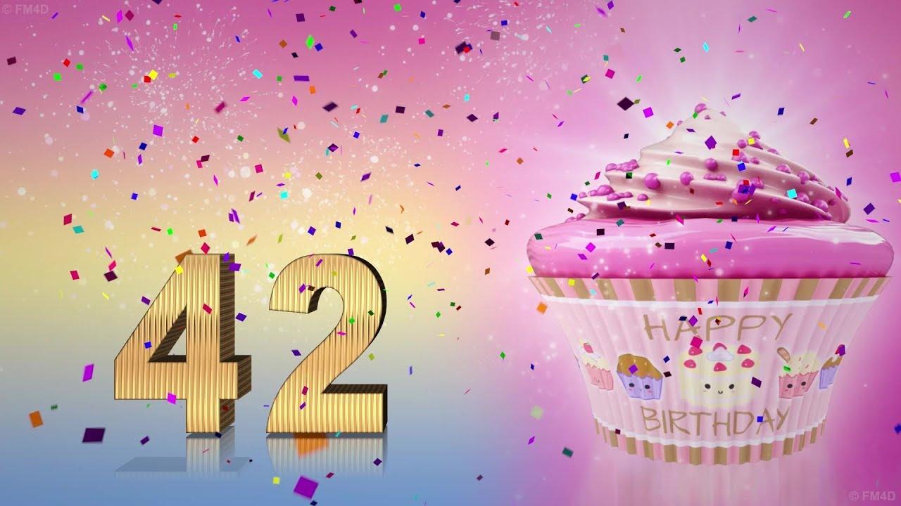 Geburtstagswunsche zum 42 mann