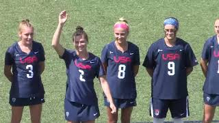 Gold Medal Game USA vs Canada  U19 Women's Lacrosse World Championship