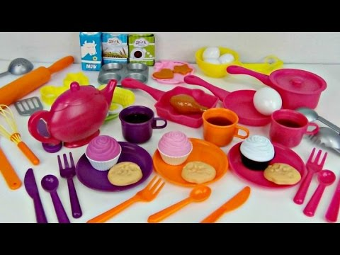 Deluxe Kitchen Playset Appliance With Play Doh Baking